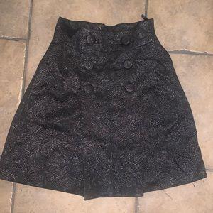Jacquard black squirt